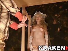 Krakenhot - Homemade submission Games with a blonde hot girl