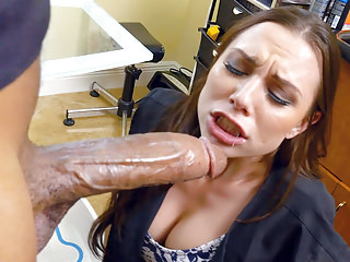 Aidra Fox Loves Big Black Cock