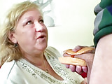 BBW Granny Loves Hot Dog With Young Dick