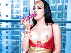 Hottie Wonder Woman TS Filipina Beautiful Shemale