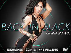 Grooby VR - Mia Maffia 'Back in Black'