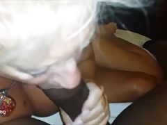 Sexy Gilf Loves Young Black Cock