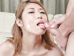 Kanako Kimura loves to suck cock in sloppy ways