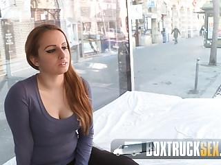 Teen Kerry gets Wet from Hardcore Sex in Public