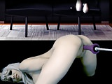 Hot Webcam Girl masturbates with machine