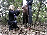 hot dogging milf films her blo