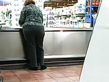 Red Head Fat Bottom GILF in grey slacks part 1 of 2
