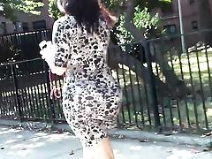 Big Jiggly Bubble Ass Tight Dress (Long Follow)