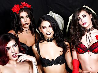 WankzVR - Semen Demons - Halloween Spunktacular