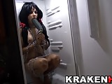 Krakenhot - Agatha Fox in an exclusive homemade BDSM video