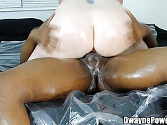 Stuffing His Wife From Behind
