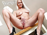 Kathy Anderson's sexy solo action