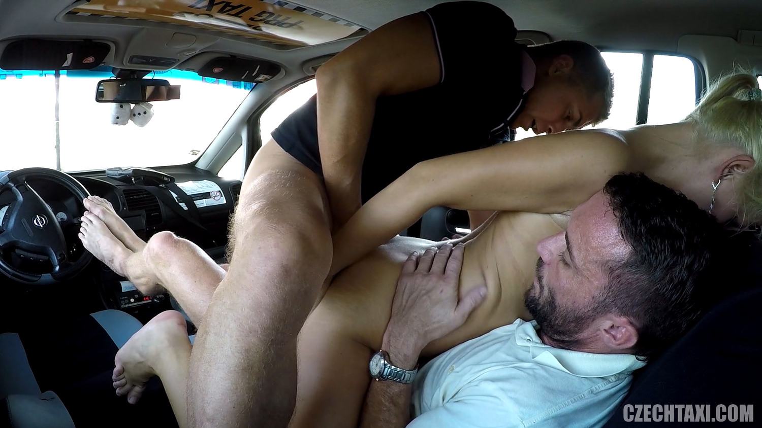 Dp Threesome I Taxi Cab, Fri Trekantsex Dp Hd Porn 40-9188
