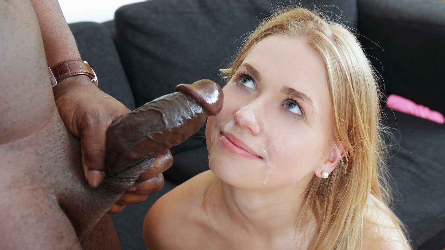 Interracial facials
