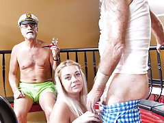 Teen Kenzie Green Tries Anal Sex With Grandpa