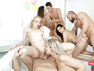THE GREAT BIRTHDAY ORGY