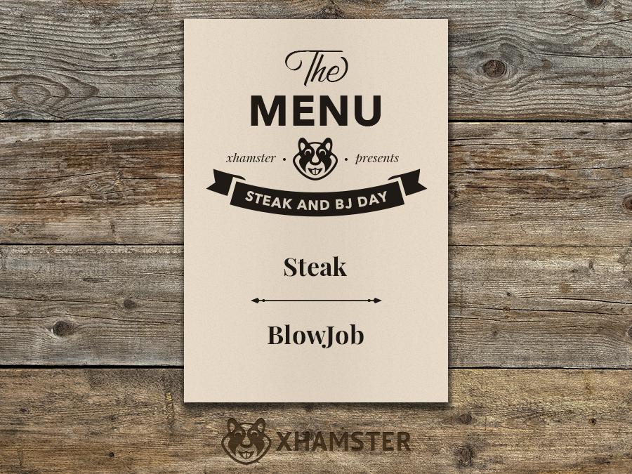 Happy Steak & Blowjob Day!