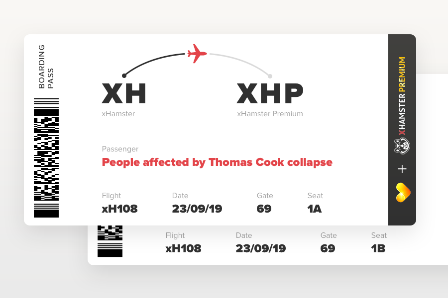 Premium for those affected by Thomas Cook